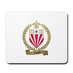 NAQUIN Family Crest Mousepad
