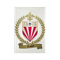 NAQUIN Family Crest Rectangle Magnet (100 pack)