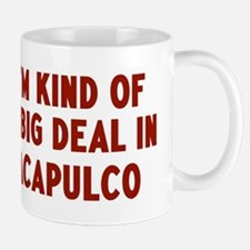 Big Deal in Acapulco Small Mugs