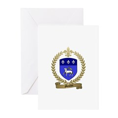 MOUTON Family Crest Greeting Cards (Pk of 10)
