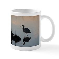 Blue Heron Sunset Mug