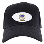 MOULAISON Family Crest Black Cap