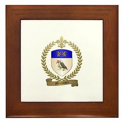 MOULAISON Family Crest Framed Tile