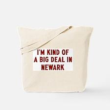 Big Deal in Newark Tote Bag