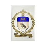 MOULAISON Family Crest Rectangle Magnet