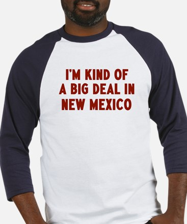 Big Deal in New Mexico Baseball Jersey