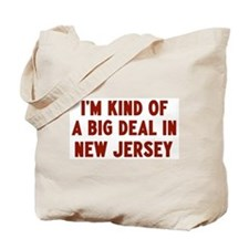 Big Deal in New Jersey Tote Bag