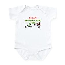 Jacob's Motorcycle Racing Infant Bodysuit