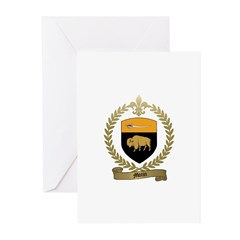 MOTIN Family Crest Greeting Cards (Pk of 10)