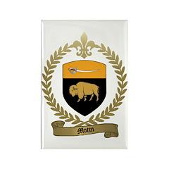MOTIN Family Crest Rectangle Magnet (10 pack)