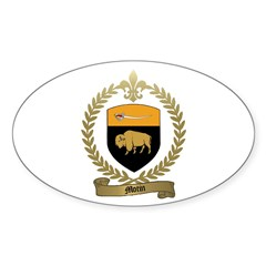 MOTIN Family Crest Oval Decal