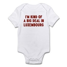 Big Deal in Luxembourg Infant Bodysuit