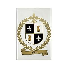 MIUS Family Crest Rectangle Magnet