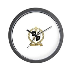MIUS Family Crest Wall Clock