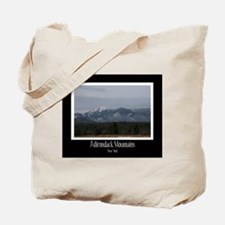 Winter Adirondack Mountains Tote Bag