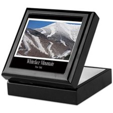 Winter On Whiteface Keepsake Box