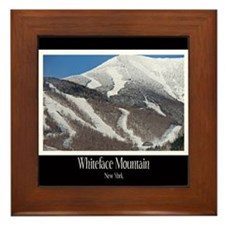 Winter On Whiteface Framed Tile