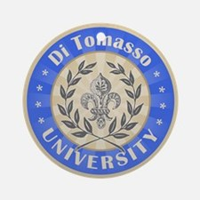 Di Tomasso Last Name University Ornament (Round)
