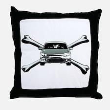 Scirocco Crossbones Throw Pillow