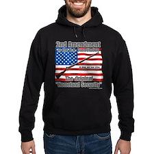 Homeland Security Dark Hoodie