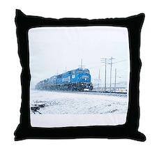 Cute Norfolk southern Throw Pillow
