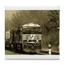 Cute Norfolk southern railroad Tile Coaster