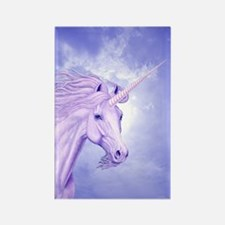 Unicorn & Sky Rectangle Single Magnet