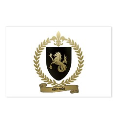 MIRANDE Family Crest Postcards (Package of 8)