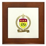 MIGNOT Family Crest Framed Tile