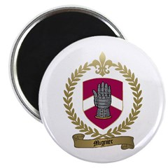 "MIGNIER Family Crest 2.25"" Magnet (100 pack)"