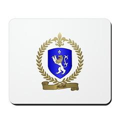 MICHEL Family Crest Mousepad