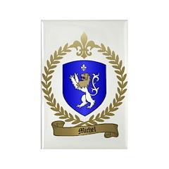 MICHEL Family Crest Rectangle Magnet (10 pack)