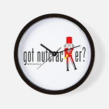 got nutcracker? Wall Clock