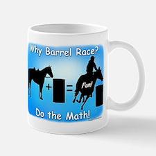 Barrel Racing Math Mug