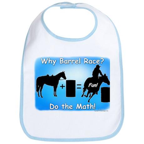 Barrel Racing Math Bib