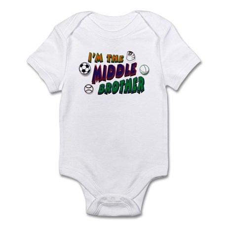 Middle Brother Sports Infant Bodysuit