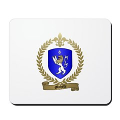 MICHELLE Family Crest Mousepad