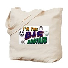 Big Brother Sports Tote Bag
