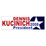 Dennis Kucinich: President 2008 (sticker)