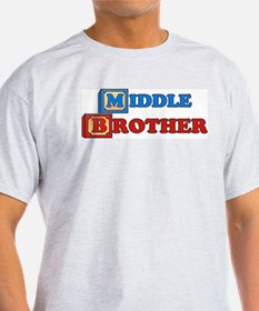 Cute Middle brother blocks T-Shirt