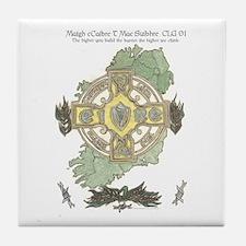 Gearoid Mag Uaid Design-Maghaberr POW Tile Coaster