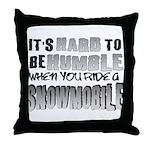 Hard to be Humble Throw Pillow