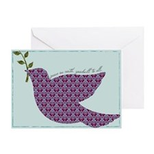 Peace Dove Holiday Cards