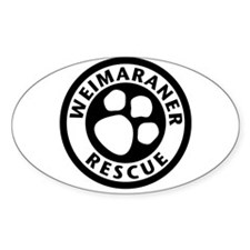 Rescue Oval Decal