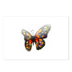 Buterfly love Postcards (Package of 8)