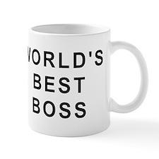 World's Best Boss Small Mug