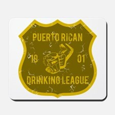 Puerto Rican Drinking League Mousepad
