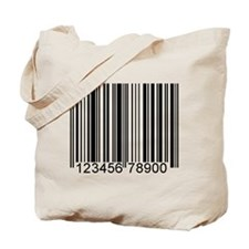 Cute Bar code Tote Bag