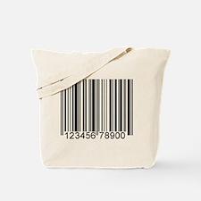 Unique Bar code Tote Bag