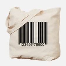 Cute Barcode Tote Bag